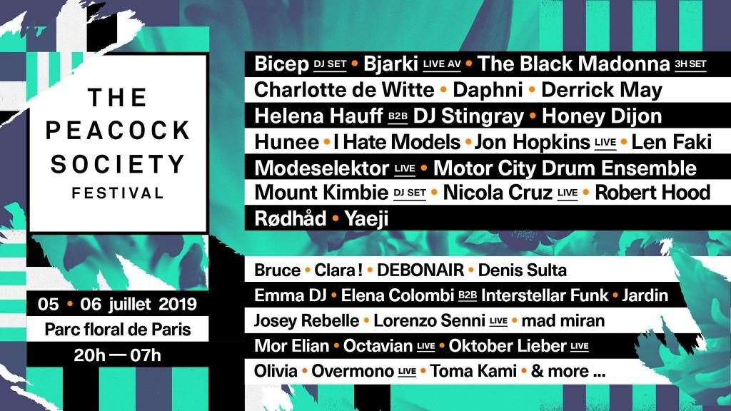 The Peacock Society Festival 2019 -Clubbingtv.com