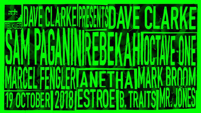 Dave Clarke's 14th ADE Residency - Clubbingtv.com