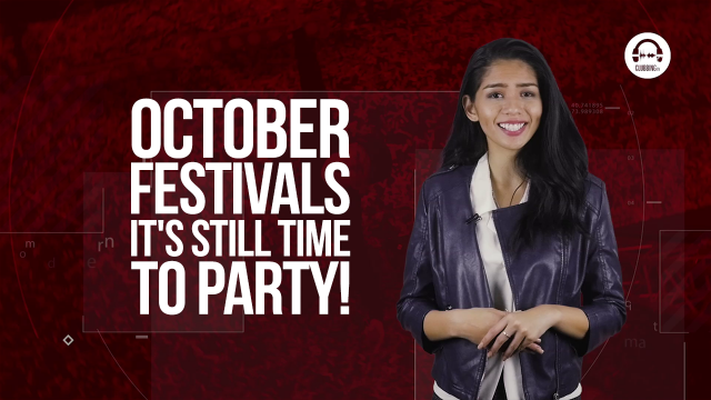 Clubbing TV Trends 14: Festivals to Attend in October!