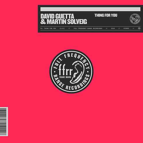 """""""Thing For You"""" David Guetta & Martin Solveig OUT Now !!"""
