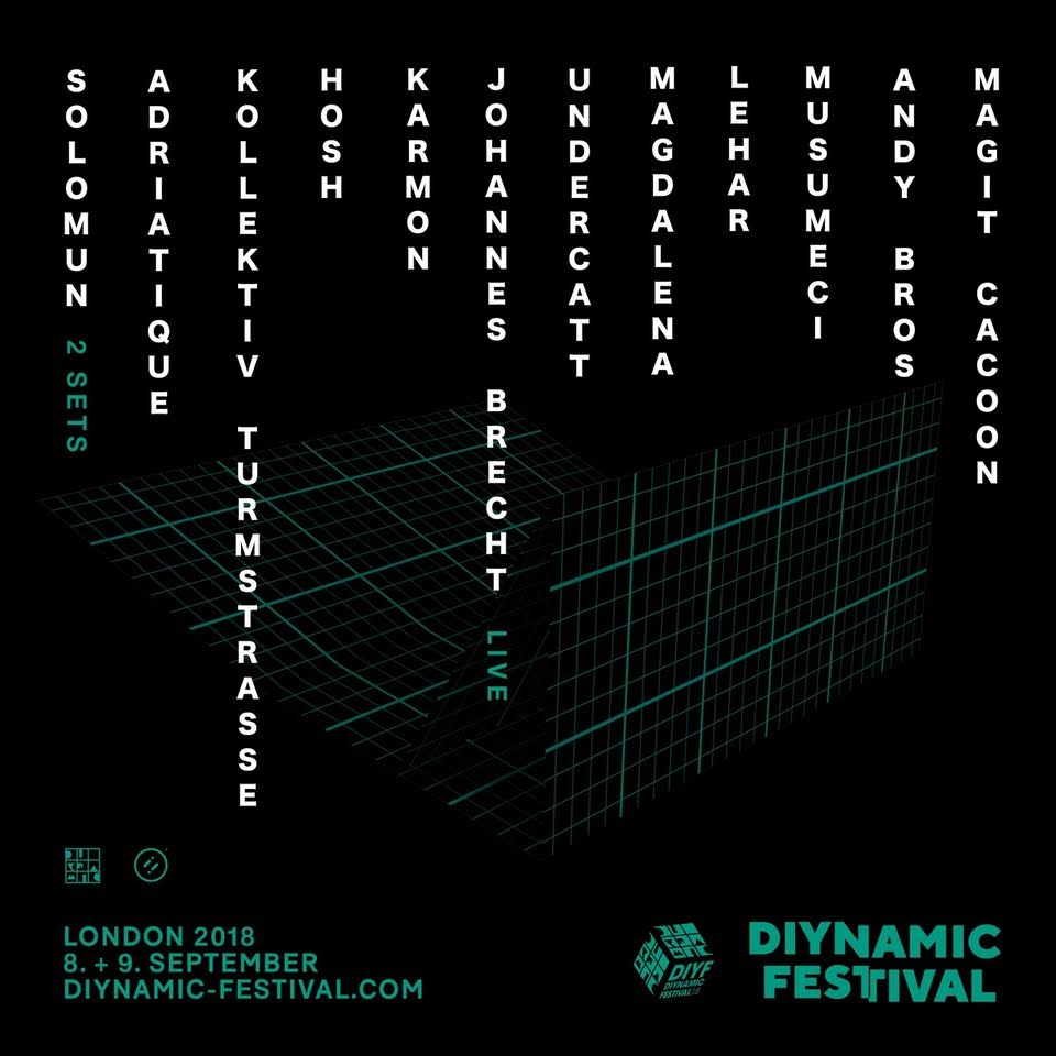Diynamic Debuts Lineup! Dynamic London -Clubbingtv.com