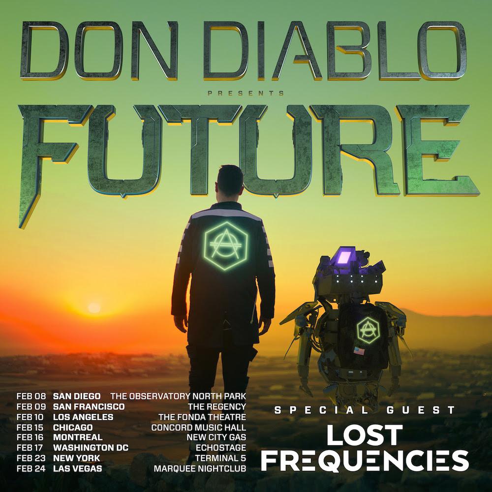 """Future"" US Tour by Don Diablo"