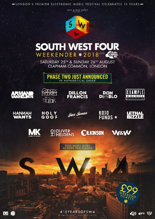 More South West Four at London's Clapham Common! -Clubbingtv.com