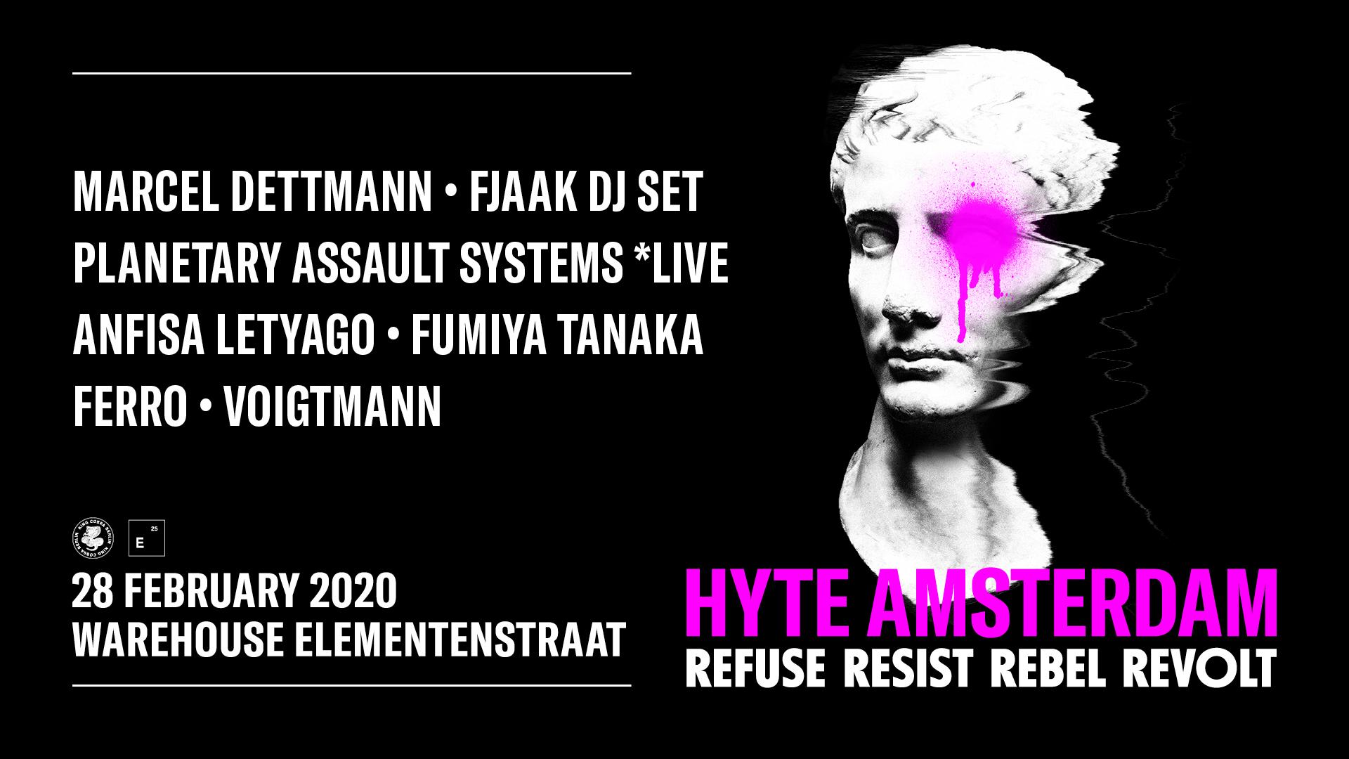 HYTE Amsterdam 2020