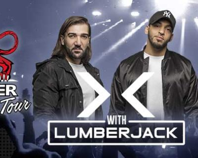 Crazy Tiger Tour 2020 avec Lumberjack & Clubbing TV