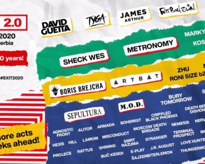 Exit Festival 2020 – 20th anniversary