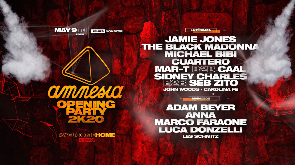 Amnesia Ibiza Opening Party 2020 is cancelled -Clubbingtv.com