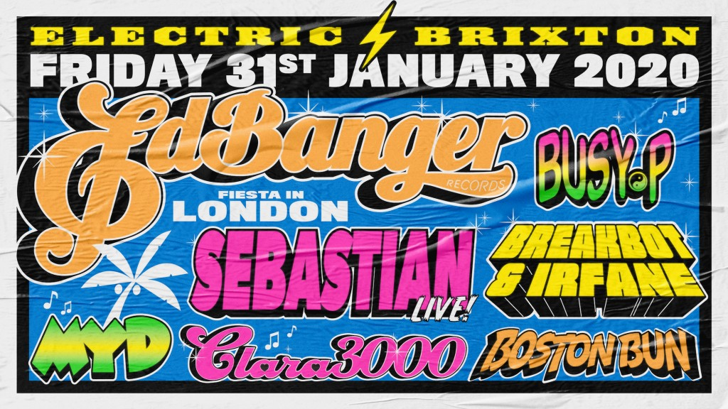 See you at Ed Banger's label party!