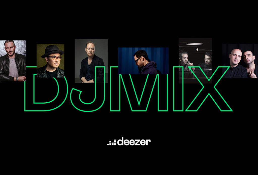 There are new mixes on Deezer!