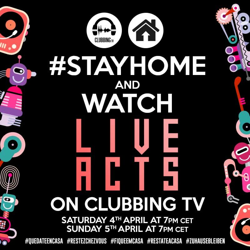 #StayHome with ClubbingTV!