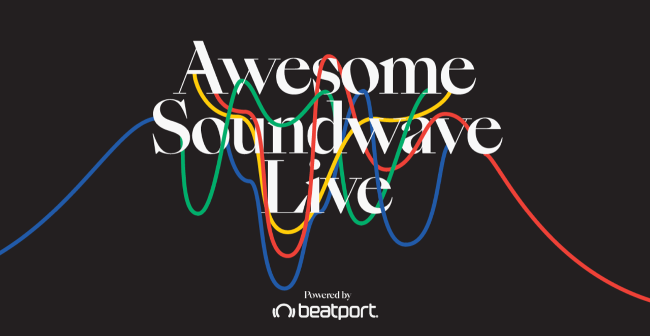 Awesome Soundwave's online festival on April 25th