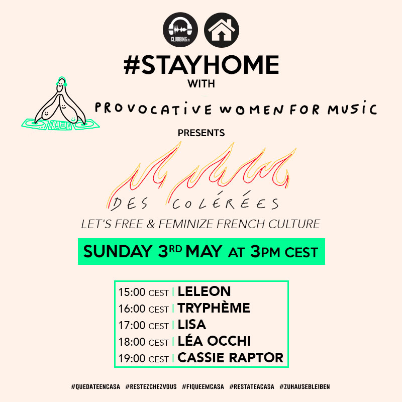 100% Women live on sunday with Provocative Women for Music