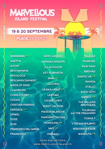 Marvellous Island Festival: luckily back in September 2020