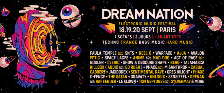 18-19-20 Sept 2020 | DREAM NATION FESTIVAL | PARIS
