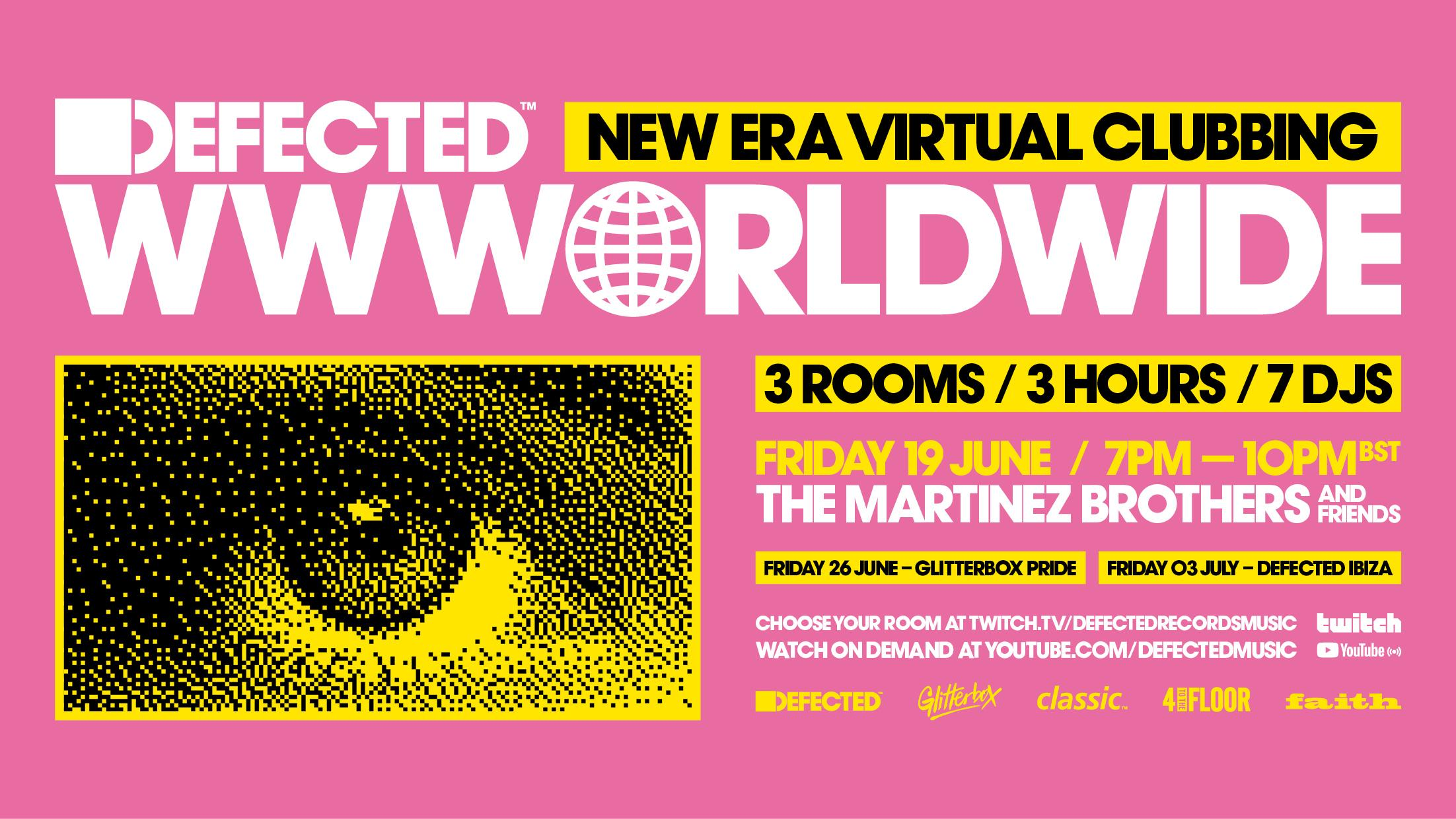 Defected sets up a series of virtual festivals on Twitch