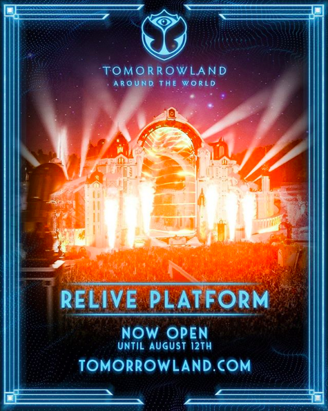 Relive platform Tomorrowland Around