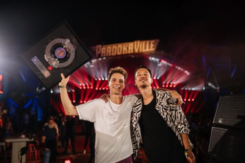 Felix Jaehn receives another Diamond Award