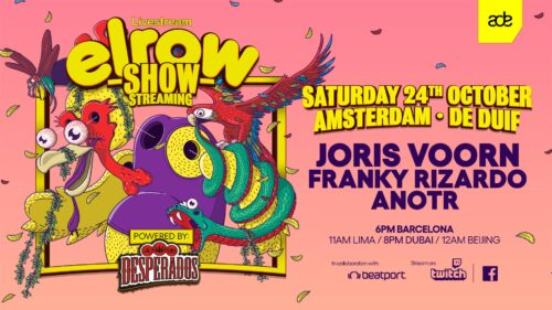 Virtual party at ADE with Elrow and Desperados !