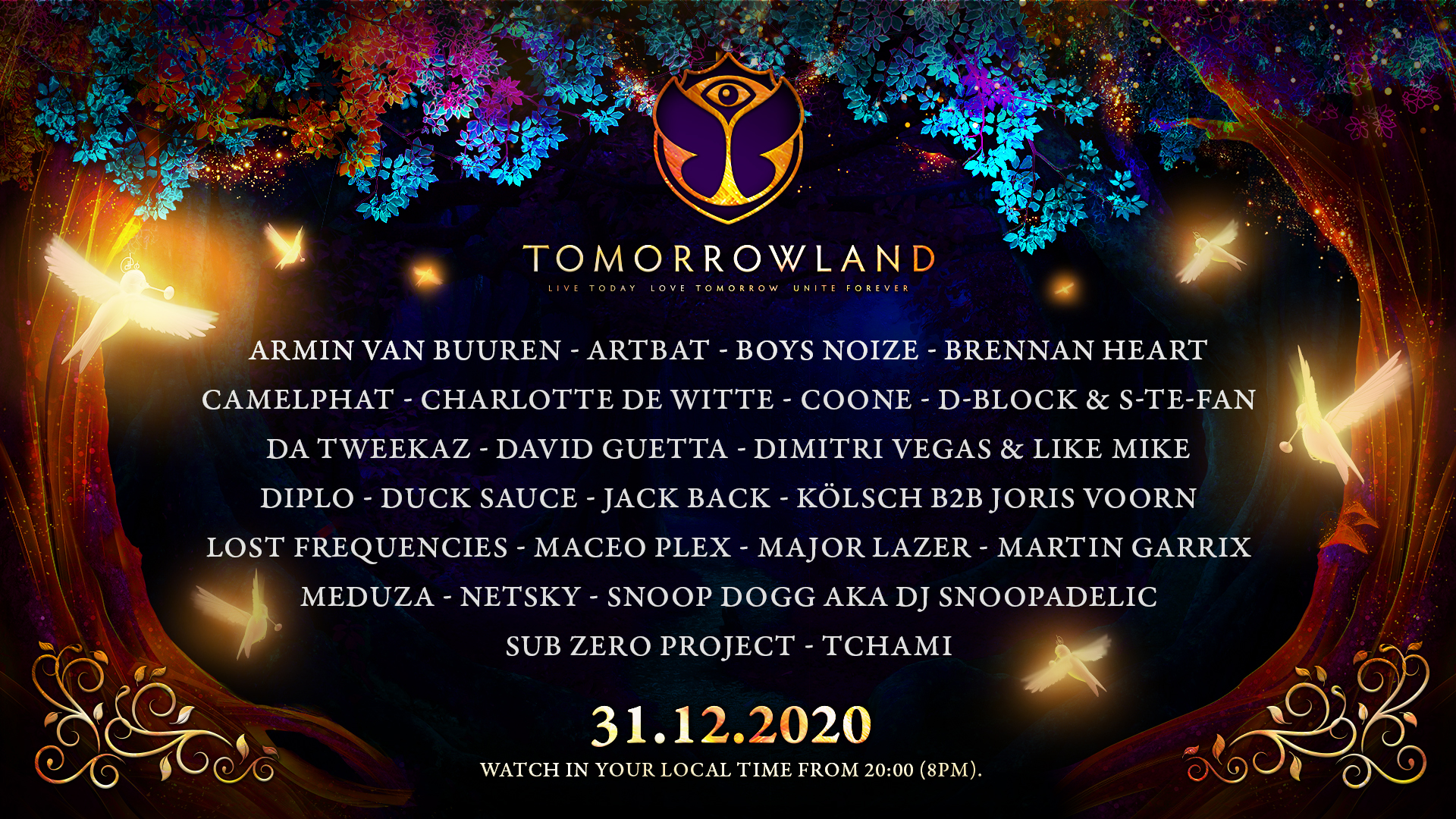 Tomorrowland line up