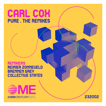 Carl Cox announces 'Pure The Remixes' set for Century Digital