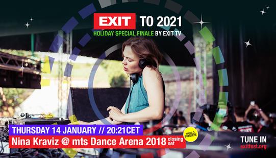 EXIT Festival Premieres Nina Kraviz and Amelie Lens sets, and a VR party!