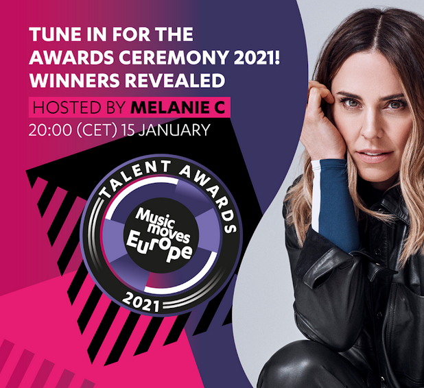 The Music Moves Europe Talent Awards ceremony 2021 will be digital!
