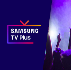 SAMSUNG TV PLUS is broadcasting CLUBBING TV in Europe!