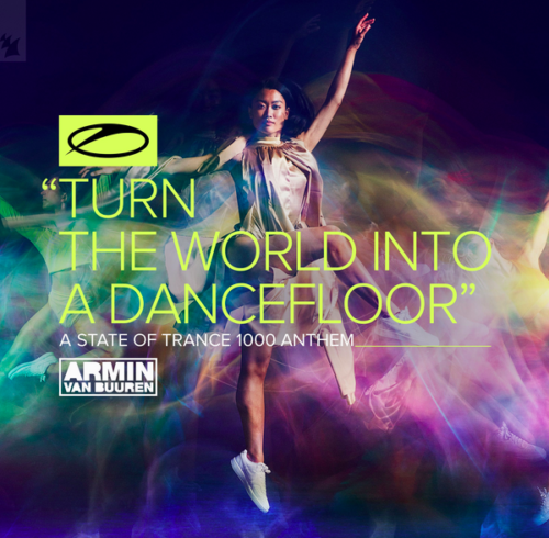 The incredible audience of Armin Van Buuren's 1000th episode of A State Of Trance radio show!
