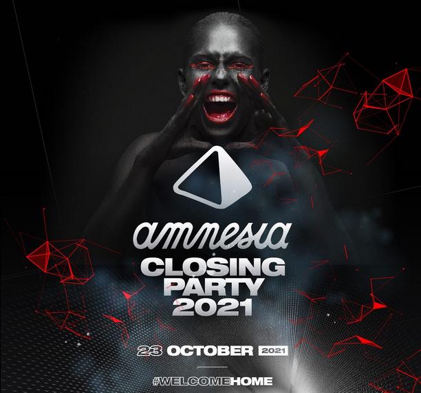 Amnesia Ibiza announces a closing party in October, 2021!