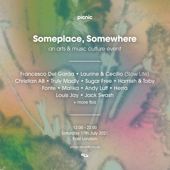 Picnic reveals Someplace, Somewhere !