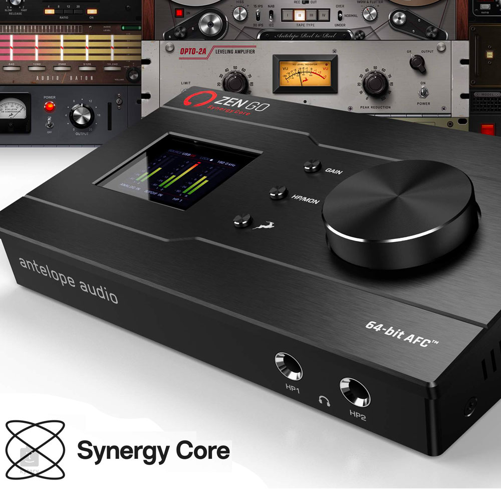 Antelope Audio Zen Go Synergy Core, Finally a studio grade sound card under 500 Euros
