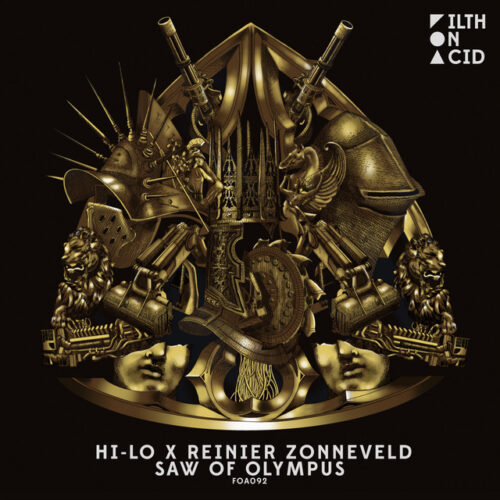 HI-LO and Reinier Zonneveld unite on 'Saw of Olympus'!